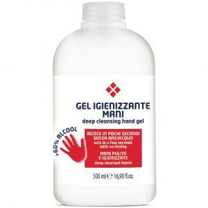 Gel Igienizant pentru maini formula +60% Alcool, Parisienne, 500ml