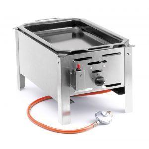 Grill Hend Bake Master - model Mini - otel inoxidabil, 500W, pt uz exterior