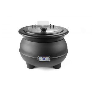 Incalzitor supa, 450 W, 8 L, Panou digital, Termostata 65-95°C, Negru