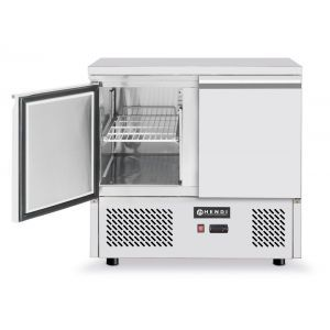 Masa rece cu 2 usi, profesionala, ARKTIC by Kitchen Line, racire ventilata, consum mediu 4.5 kW, capacitate camera frig 300 lt