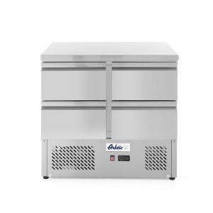 Masa rece cu 4 usi profesionala inox ARKTIC by 300 L interval temperatura -2/+8 gr C 220 W 900x700x(H)880 mm