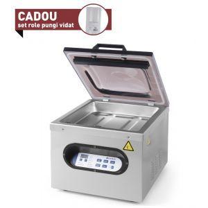 Masina ambalare vacuum cu camera Kitchen Line, 630 W, Argintiu/Negru