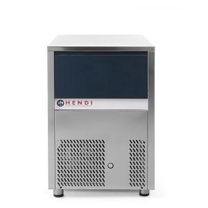 Masina profesionala fulgi de gheata racire cu aer inox 600 W productivitate de pana la 120 Kg in 24 H temperatura ambientala de functionare de pana la + 43°C ARKTIC by Hendi
