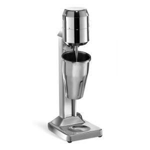 Milkshaker electric profesional, 140W, pahar inox 500 ml, corp inox, microcip pornire automata,