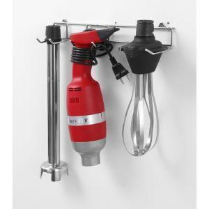 Mixer vertical profesional 4000W, 9 viteze, 2000-9000 rpm, Profi Line 400, tija 40 cm, cu tel si suport de perete, Ø100x350 mm