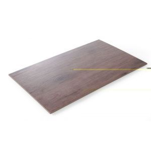 Platou, melamina cu aspect de lemn GN 1/1