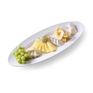 Platou oval mare pentru servire, melamina (L)713 x (l)285 x (H)40 mm