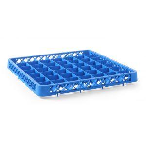 Prelungitor cos pentru masina de spalat vase, 1 compartiment, 500x500x(H)45 mm, Albastru, Polipropilena
