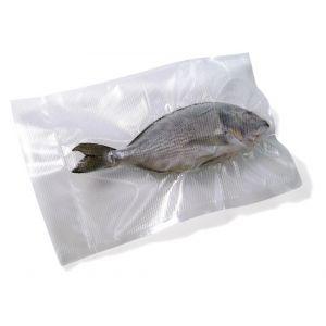 Pungi alimentare pentru vidat gofrate, 150 x 250 mm, 2 straturi, filtru UV, 100 buc, grosime 75 microni, Hendi