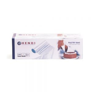 Pungi patiserie, potrivite pentru preparare calda si rece, set 100 buc., polietilena, 53x28,5 cm
