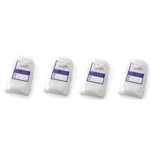 Set 4 x 100 pungi vidat gofrate 150x400 mm, 3 straturi,, 105 microni grosime, filtru UV