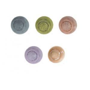 Set 5 Boluri și colandere servire Cosy & Trendy by Hendi, Portelan, melamina, 16 x H 9.5 cm