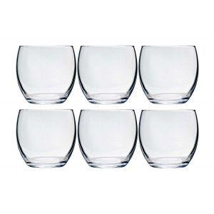 Set 6 pahare, sticla rezistenta, Cosy & Trendy by 340 ml