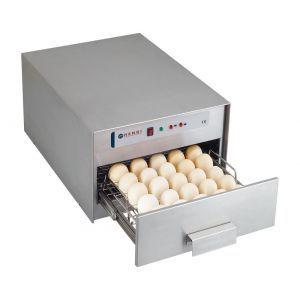 Sterilizator oua, 78 W, dezinfectare cu lampi UV, capacitate 30 oua, Argintiu