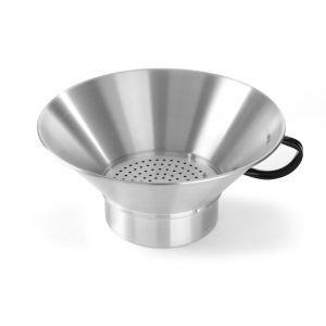 Strecuratoare pentru cartofi prajiti, aluminiu, cu maner, 410x(H)170 mm, Hendi