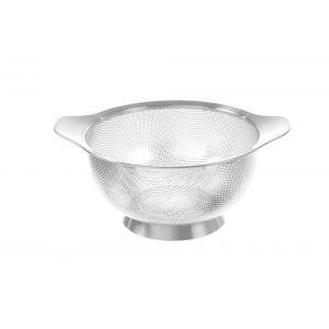 Strecuratoare perforata, inox, ø180x(H)90 mm