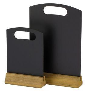 Tabla pnetru meniu, suport lemn, 210x320 mm, 2 fete pt scris