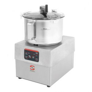 Taietor-emulsificator electric profesional pentru legume, SAMMIC KE-8V, 10 viteze intre 385-3000 rpm, putere 1250W, capacitate 8 litri, Hendi