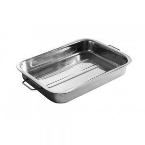 Tava cuptor, otel inoxidabil, 43x31x(H)6 cm