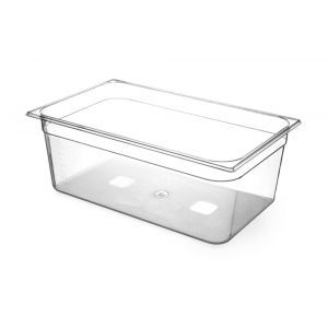 Tava Gastronorm GN 1/1 (530x325 mm), H=65 mm, 9 lt, din TRITAN fara BPA,