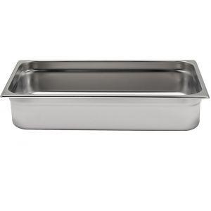 Tava Gastronorm GN 1/1, 530x325x(H)20 mm, 2.6 lt, inox, Kitchen Line