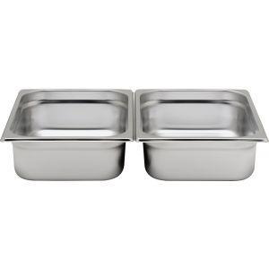 Tava Gastronorm GN 1/2 200 mm 11.2 lt - gama Profi Line, otel inoxidabil