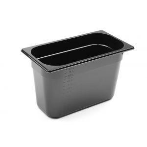 Tava Gastronorm GN 1/3 150 mm 5.7 lt - policarbonat negru