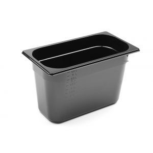Tava Gastronorm GN 1/3 65 mm 2,5 lt - policarbonat negru