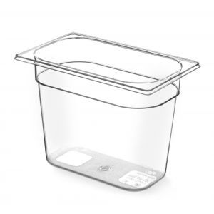 Tava Gastronorm GN 1/4 200 mm 4.5 lt - TRITAN free BPA