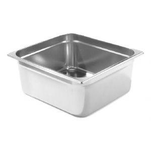 Tava Gastronorm GN 1/6, adancime 150 mm, 2.4 litri, gama Kitchen Line, otel inoxidabil