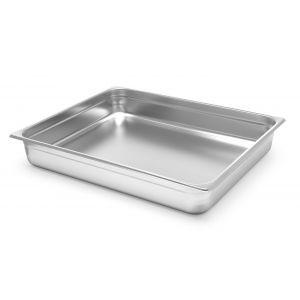 Tava gastronorm GN 2/1 din policarbonat 18/10, 650x530x200 mm rezistenta la temperaturi -40° pana la 110°C