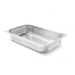 Tava perforata Gastronorm GN 1/1 40 mm 5.3 lt - gama Kitchen Line, otel inoxidabil