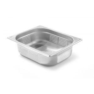 Tava perforata Gastronorm GN 1/2 65 mm 3.6 lt - gama Kitchen Line, otel inoxidabil
