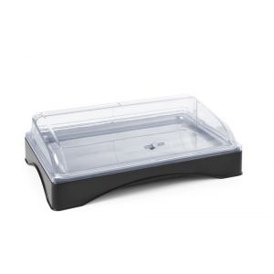 Tava servire cu capac rolltop si elementi racire, GN 1/1, 555x357x(H)175 mm, Hendi