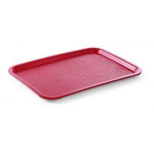 Tava servire din polipropilena rosie, 305x415 mm,