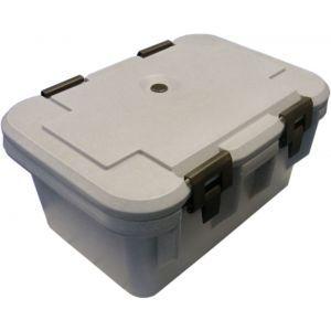 Termo -container pentru catering, cu capac, GN 1/, H=21 cm, pereti dubli, 450x650x(H)300 mm