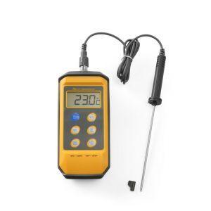 Termometru bucatarie cu sonda detasabila din inox, rezistent la stropire si socuri, interval temp -50-/+300 gr C, 85x195x(H)45 mm
