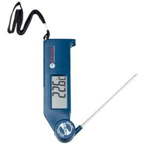 Termometru cu sonda pliabila, otel inoxidabil 11 cm, -50/300°C
