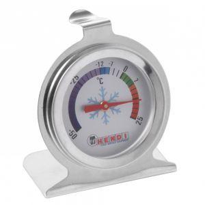 Termometru pentru frigider, otel inoxidabil, -50/25°C, Ø6x7 cm