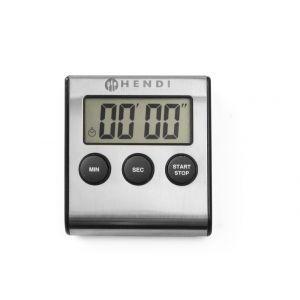 Timer digital pentru bucatarie, cu magnet prindere, 65x70x(H)17 mm