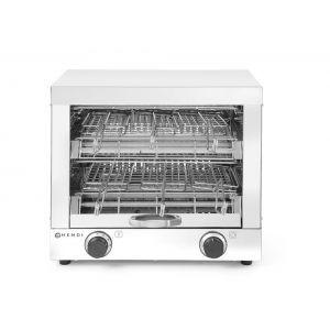 Toaster cu 6 compartimente, inox, 3000W, 43.8x29x(H)40.2 cm