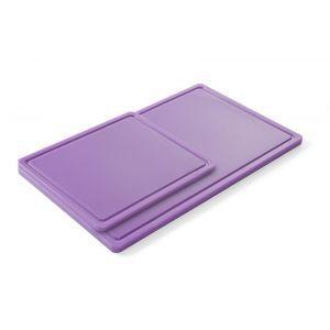 Tocator bucatarie GN 1/1, 530x325 mm, polipropilena HDPE, violet -pentru alimente ne-alergene, respecta normele HACCP