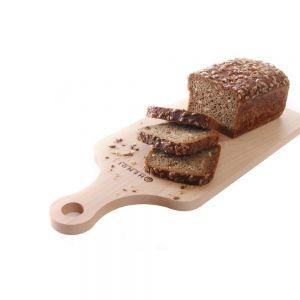 Tocator cu maner, lemn de fag, 39x16x1,3 cm