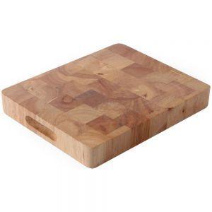 Tocator, lemn de cauciuc, GN 1/2, 26,5x32,5x4,5 cm