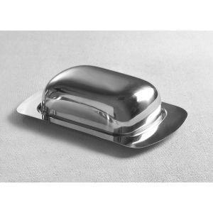 Untiera cu capac inox, 125x(H)55 mm, pentru pachete de max 250 gr, se poate folosi in masina de spalat vase