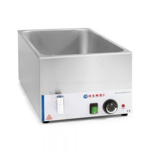 Vas Bain-marie Kitchen Line cu robinet de scurgere GN 1/1 150 mm, 1200 W