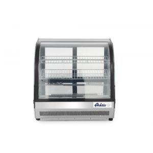 Vitrina frigorifica pentru prajituri, Arktic, 110 lt, 2 rafturi, interval temperatura +2 / +8 gr C, consum mediu zilnic 3.8 kW, 70x55.7x(H)67 cm