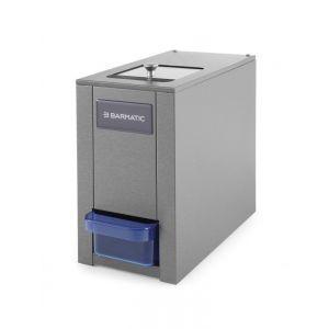 Zdrobitor electric profesional pentru gheata 120 W 180 kg/h Negru 180x320x(H)330 mm